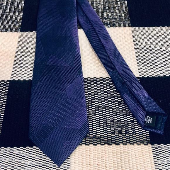Michael Kors 100% Silk Purple Tie